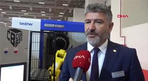 İzmir Maktek Fuarı'nda Endüstri 4.0'a uygun yeni nesil makineler ilgi gördü