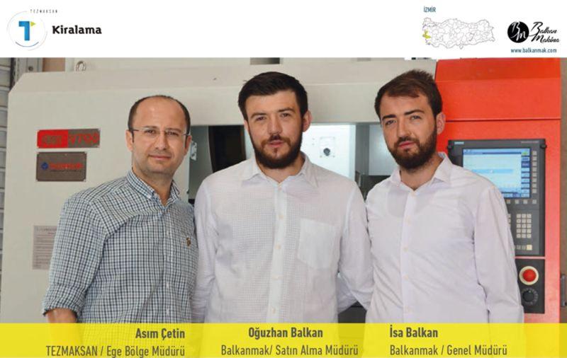 Balkanmak, Teknoloji Kirama uygulamasına güvenerek üretime adım attı.