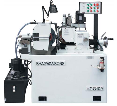 Bhagwansons HCG100 Üniversal Puntasız Taşlama Tezgahı