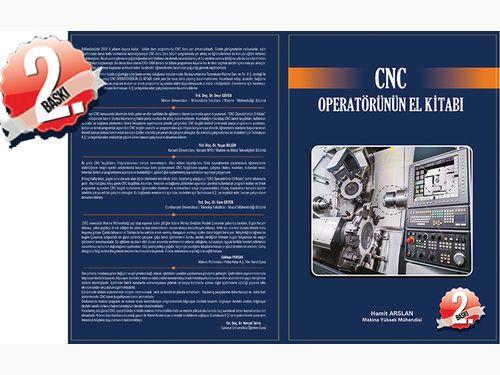 """CNC Operatörünün El Kitabı, """"İKİNCİ BASKI""""ya Gidiyor"""