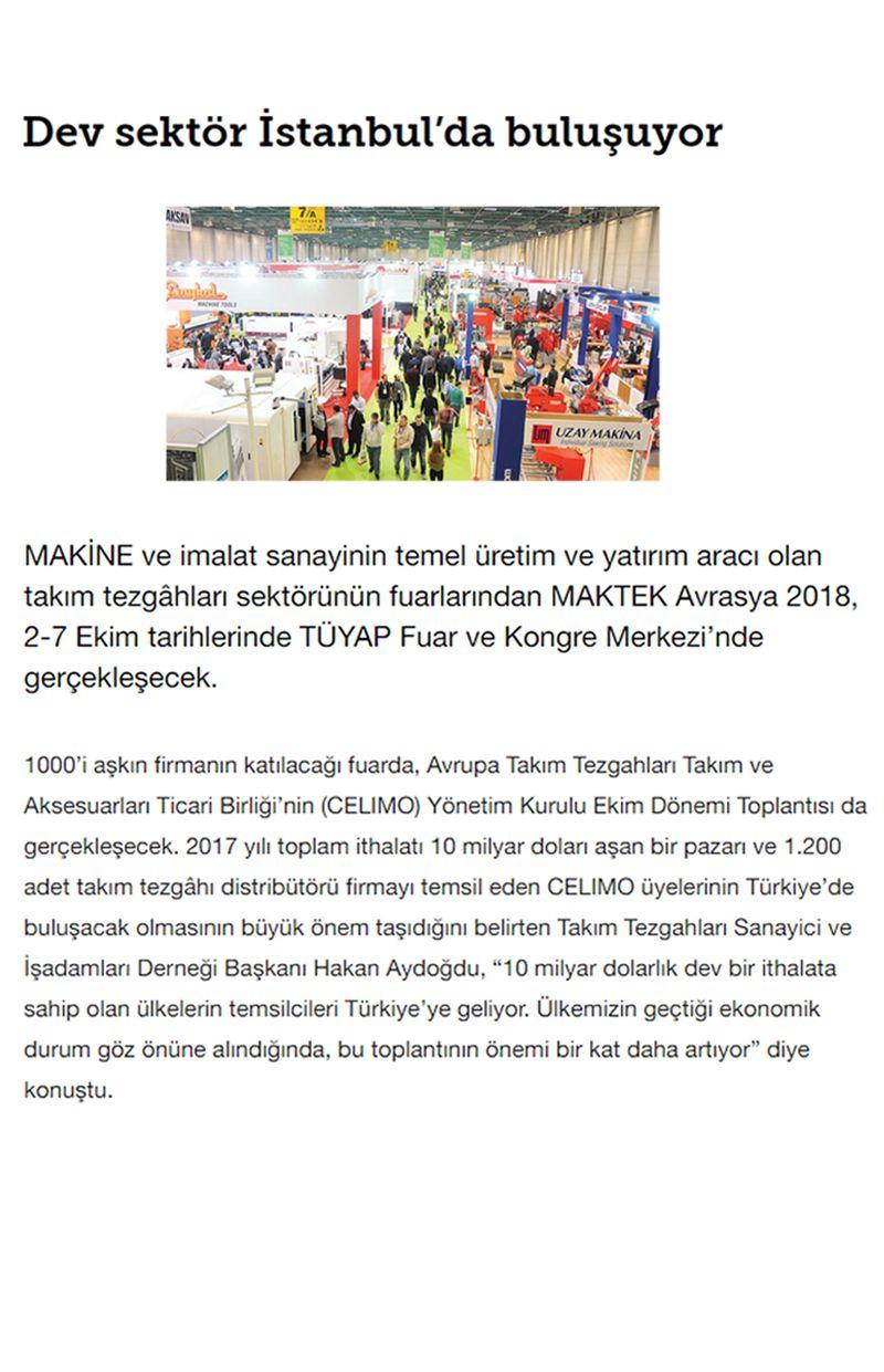 Dev Sektör İstanbulda Buluşuyor