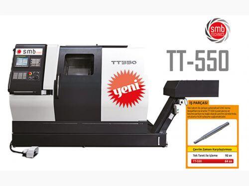 Eşzamanlı Tornalama Yöntemi ile Çalışan Tek Tezgah:TT-550