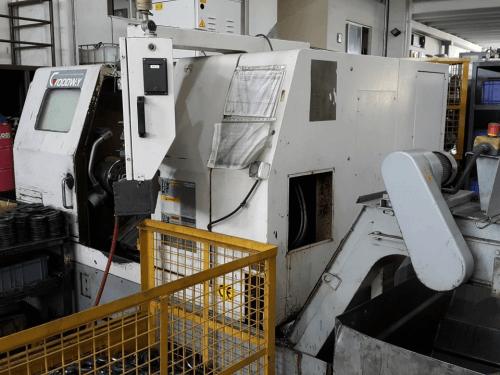 GOODWAY GS 260L CNC TORNA