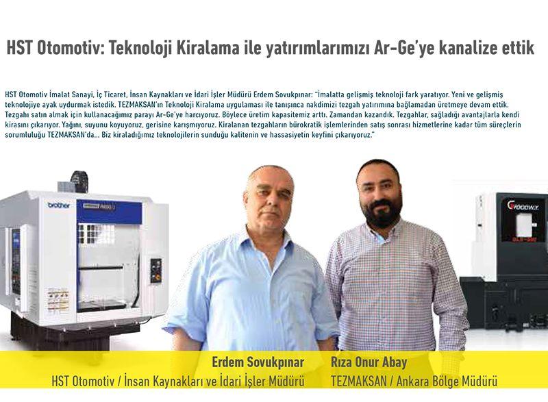 HST Otomotiv: Teknoloji Kiralama ile yatırımlarımızı Ar-Ge'ye kanalize ettik