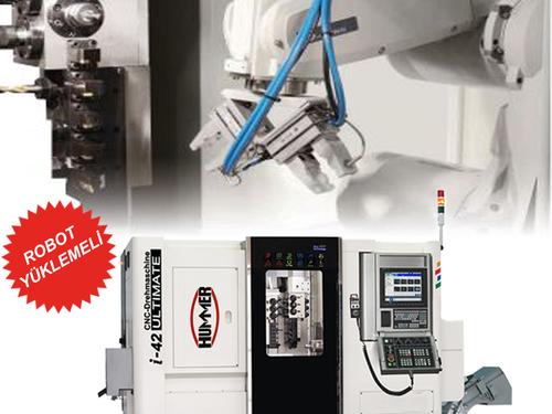 HUMMER IT-42 ROBO - CNC Otomat Torna Tezgahı