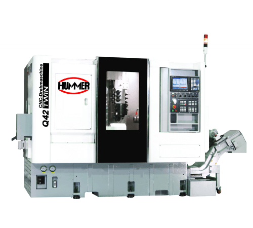 Hummer Q42 TWIN CNC Otomat Torna Tezgahı