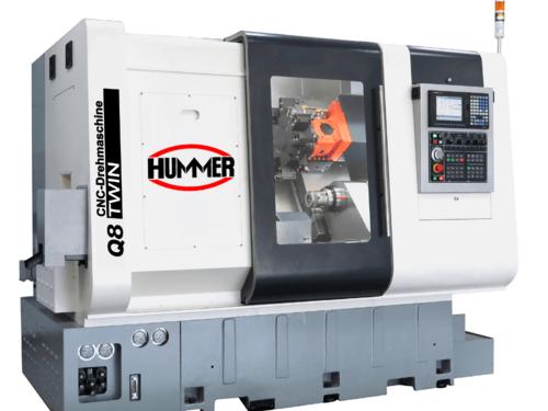 Hummer Q8 TWIN CNC Otomat Torna Tezgahı