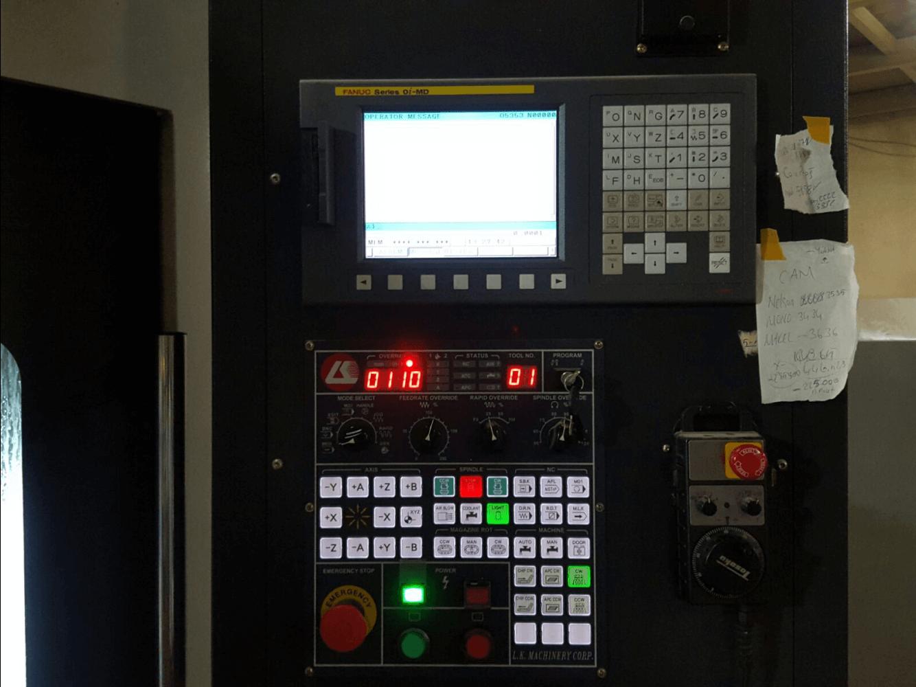 LK MT-800P ÇİFT TABLALI İŞLEME MERKEZİ