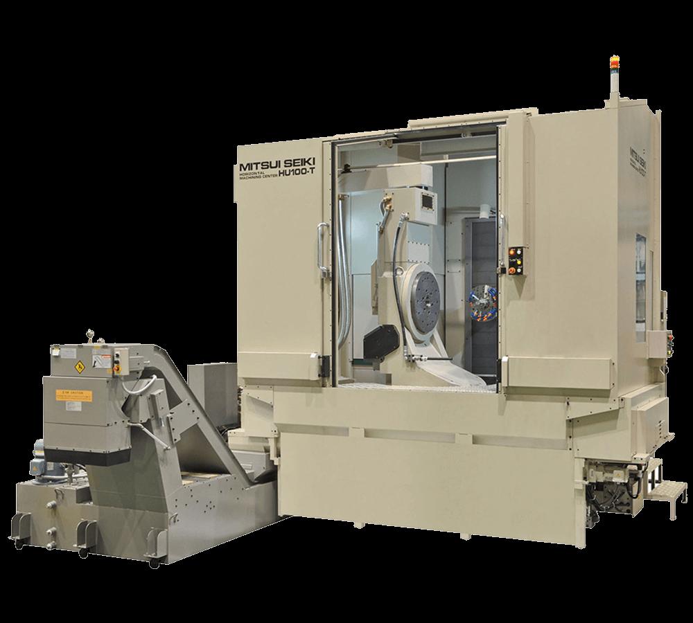 Mitsui-Seiki HU100-T CNC 5 Eksen Yatay İşleme Merkezi