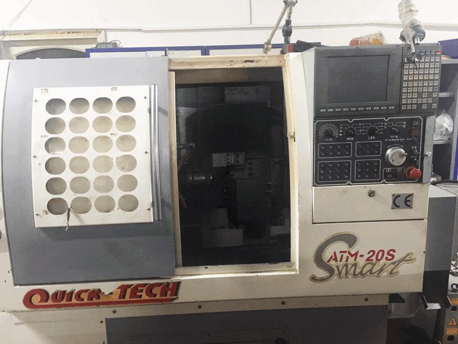 QUICK-TECH ATM-20 S SMART CNC OTOMAT TORNA