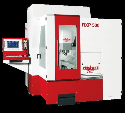 Röders RXP 500 CNC 3 Eksen İşleme Merkezi