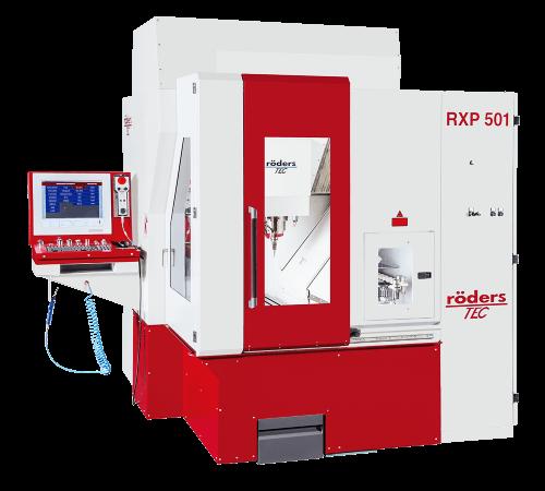 Röders RXP 501 CNC 3 Eksen İşleme Merkezi
