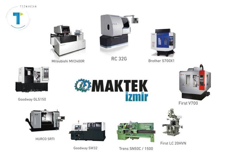 Sektöre yön veren uygulamalarımızla MAKTEK İzmir'deki standımıza bekliyoruz