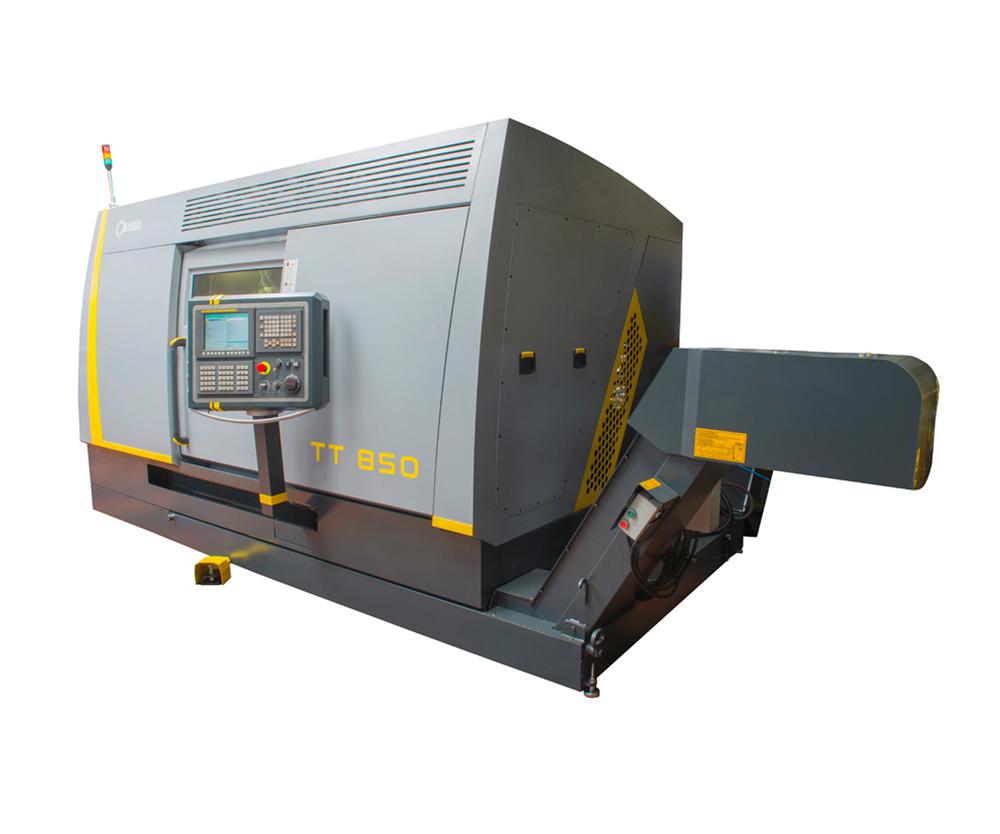 SMB TT-850 Dual Turrent CNC Lathe