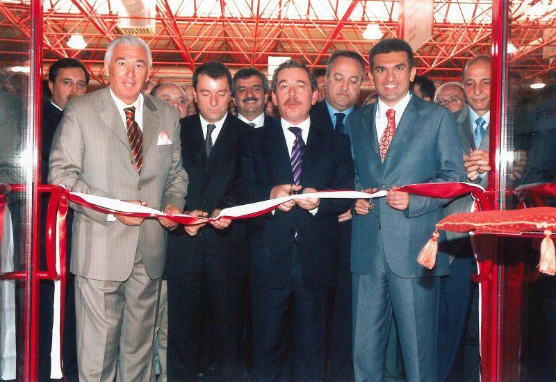 TATEF Fuarı açılışı, 2000