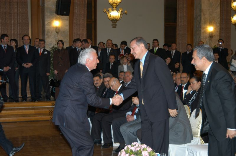 GRAND NATIONAL ASSEMBLY OF TURKEY AWARD FOR OUTSTANDING SERVICE, 2007