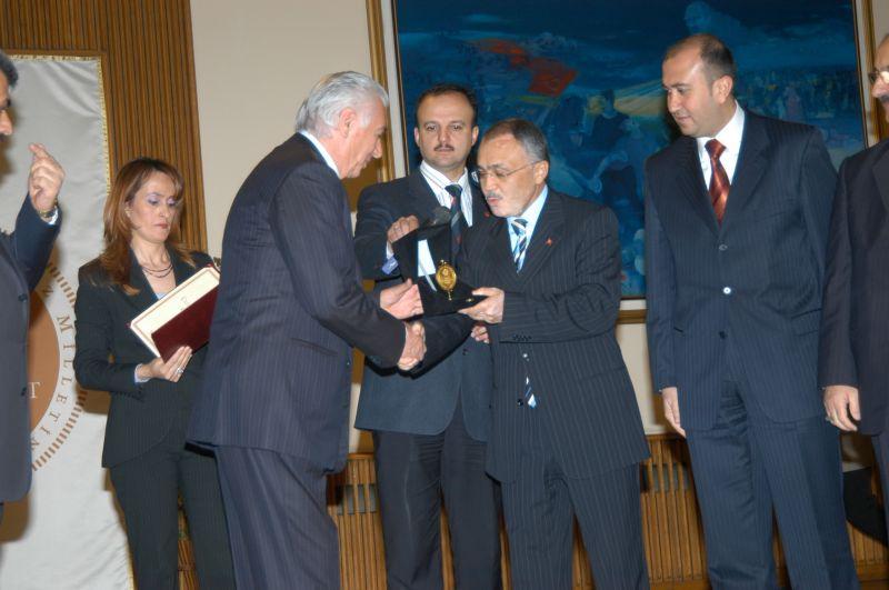 TBMM Üstün Hizmet Ödülü, 2007