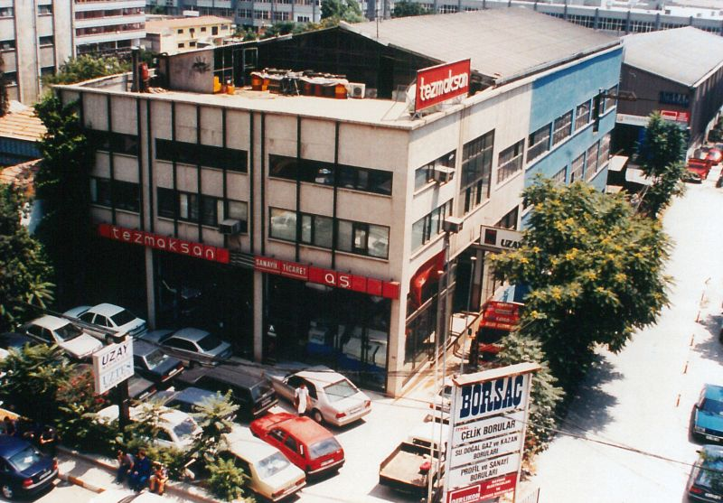 TEZMAKSAN binası, 1986