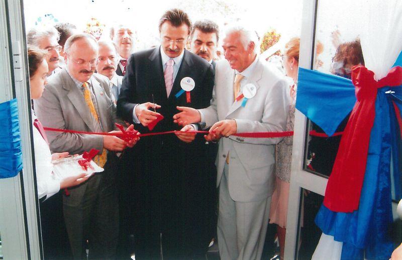 TEZMAKSAN Çatalca Serbest Bölge açılışı, 2003