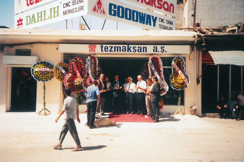 TEZMAKSAN İzmir şube açılışı, 1995