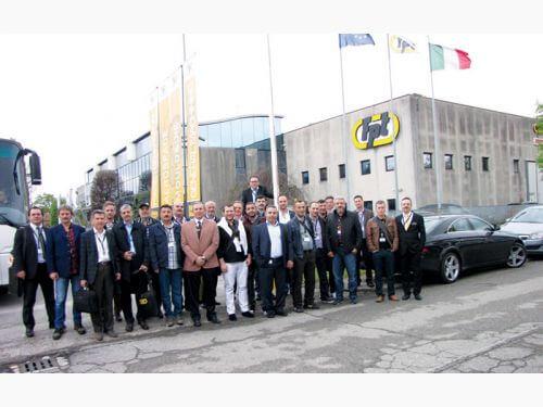 Tezmaksan Makina Müşterilerini Venedikte FPT Open House Etkinliğinde Ağırladı