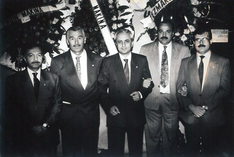 TEZMAKSAN NEW BUILDING OPENING,1986