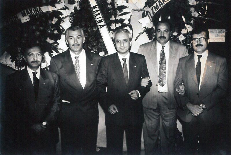 TEZMAKSAN yeni bina açılışı,1986
