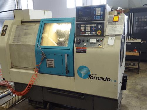TORNADO GE FANUC O-T CNC TORNA